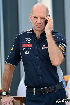 Bleibt Newey Red Bull treu? - Foto: Sutton