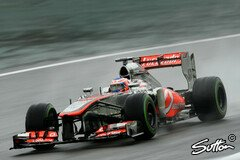 Jenson Button in Aktion - Foto: Sutton