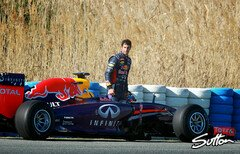Red Bull hatte massive Probleme in Jerez - Foto: Sutton