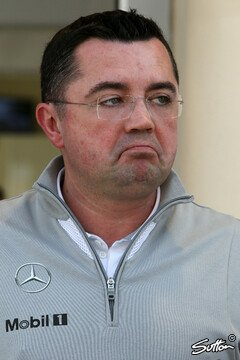 Boullier war not amused - Foto: Sutton