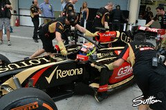 Lotus hatte im Winter massive Probleme - Foto: Sutton