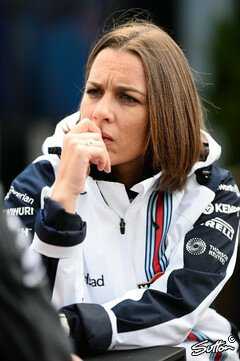 Claire Williams wei� um die Fehler ihres Teams - Foto: Sutton