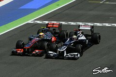 Pastor Maldonado: Immer am Limit - Foto: Sutton