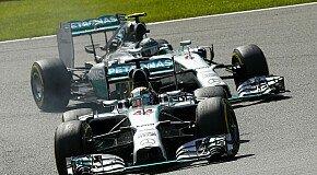 Keiner wird nachgeben - Häkkinen: Mercedes-Konkurrenzkampf wird bleiben