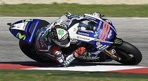 Reifen-Poker ging nicht auf - Lorenzo: Großes Lob an Rossi
