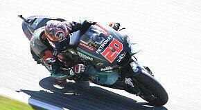 - MotoGP Silverstone: Chaos in FP2, Quartararo nachträglich 1.