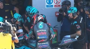 - MotoGP: Quartararo in Silverstone-Q2 von Technik gestoppt