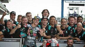 - Fabio Quartararo krönt sich zum MotoGP-Rookie des Jahres