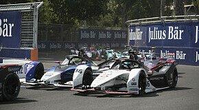 - Formel E: Porsche erleidet Rückschlag in Santiago de Chile