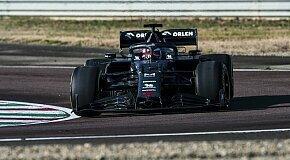 - Formel 1 - Alfa überrascht: Kimi Räikkönen fährt C39-Shakedown