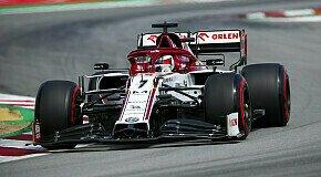 - Formel 1 Spanien, Räikkönen gehen Reifen aus: Sonst sogar Q3