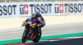 - MotoGP Portimao 2020: Miguel Oliveira siegt, Stefan Bradl stark