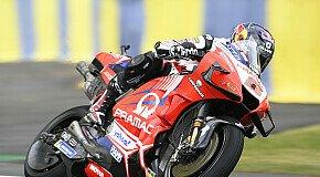 - MotoGP Le Mans: Viele Stürze in FP2, Johann Zarco voran