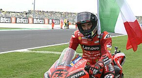 - Francesco Bagnaia: Misano-Sieg schwieriger als Aragon-Erfolg