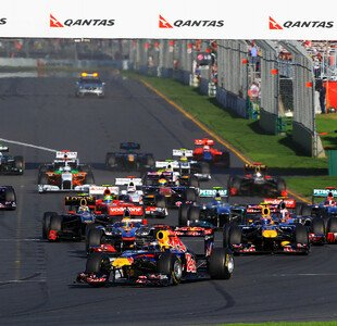 Formel 1, Saisonstart