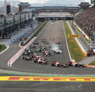 Korea GP, Formel 1