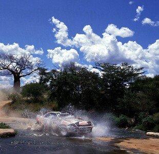WRC Safari Rallye Kenia