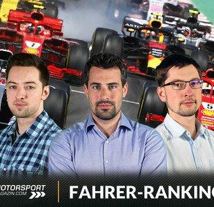 Formel 1: Fahrerranking