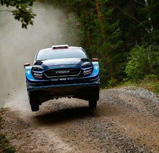 WRC Rallye Finnland
