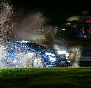 WRC Rallye Großbritannien-Wales