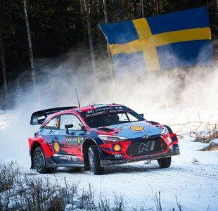 WRC Rallye Schweden