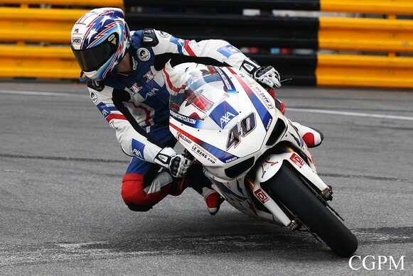Martin Jessop (hier in Macau) kommt in die Supersport-WM