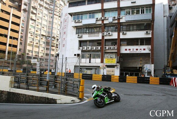 Stuart Easton siegte in Macau klar