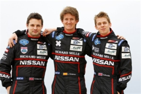 Tom Kimber-Smith, Lucas Ordonez und Alex Brundle