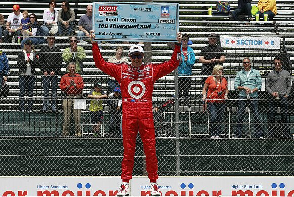 Scott Dixon sicherte sich den Sieg in Detroit