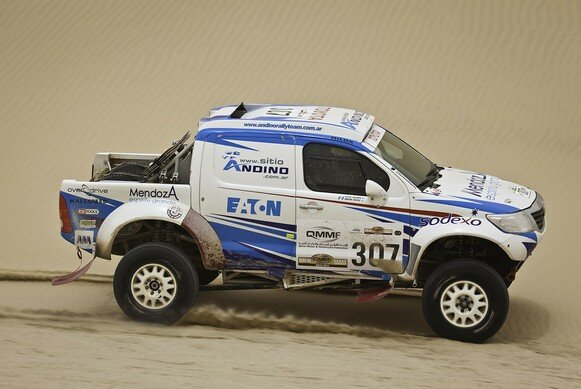 Die Silk Way Rallye 2012 kommt aut Touren
