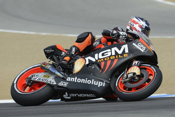 Colin Edwards sicherte sich in Laguna Seca rang 13