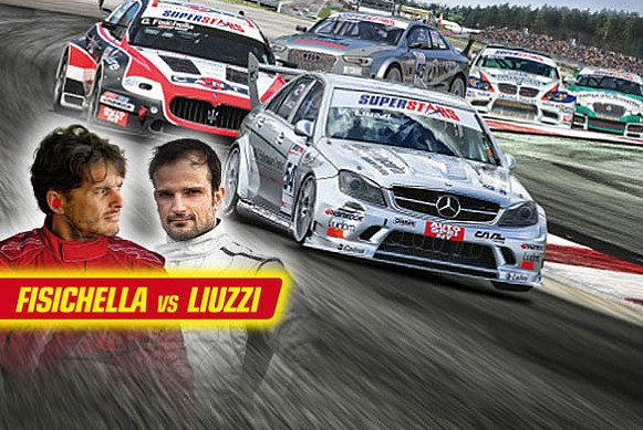 Von Force India in die Supercar Series: Liuzzi vs. Fisichella