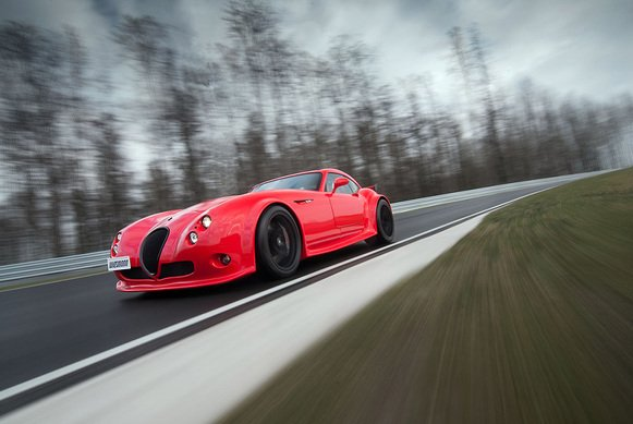 Die Clubsport Version des Wiesmann GT MF4-S.