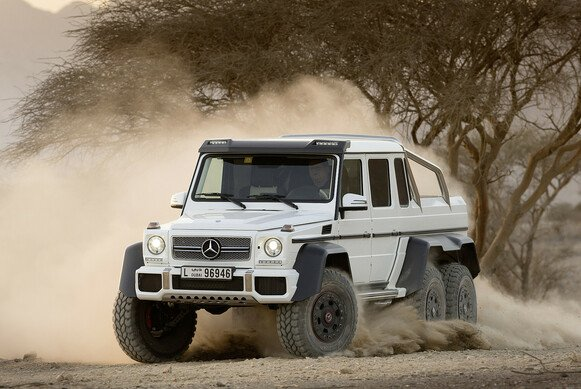 Das Mercedes-Benz G 63 AMG Showcar