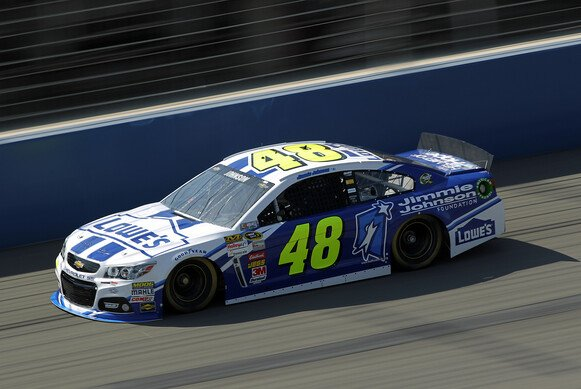 Jimmie Johnson steht in Martinsville auf Pole