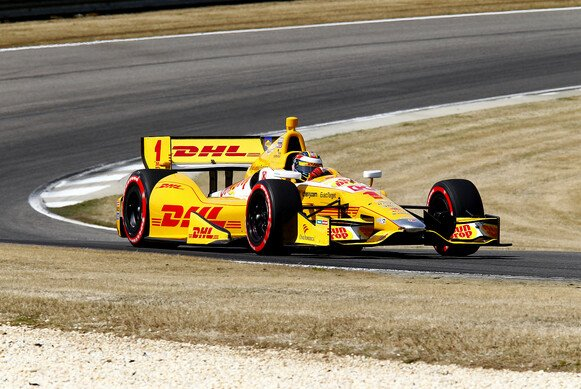 Ryan Hunter-Reay schlägt in Alabama zu