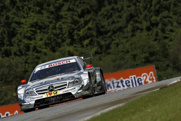 Christian Vietoris war auf dem Red Bull Ring der beste Mercedes-Pilot