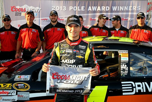 Jeff Gordon holte in Richmond seinen 73. Pole-Award