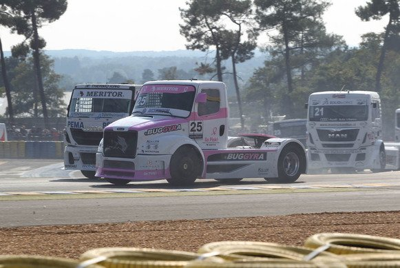 Truck-Time in Le Mans!