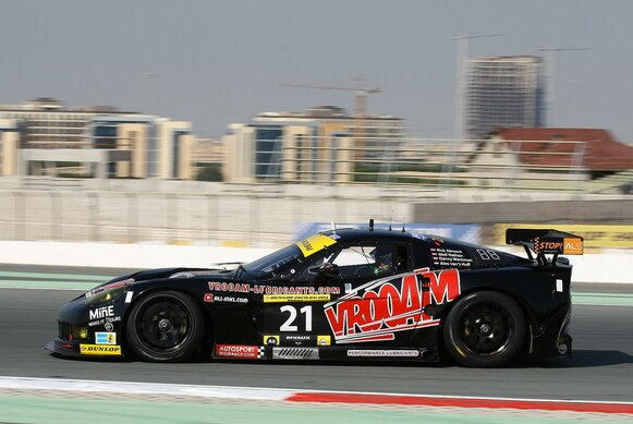 Oldie but goddie: Die modifizierte GT1-Corvette C6.R des Teams V8 Racing