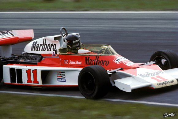 James Hunt gewann den WM-Titel 1976