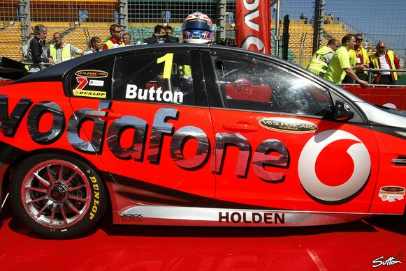Jenson Button im V8-Supercar