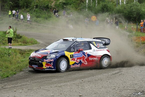Sebastien Loeb gilt als einer der Favoriten in Finnland