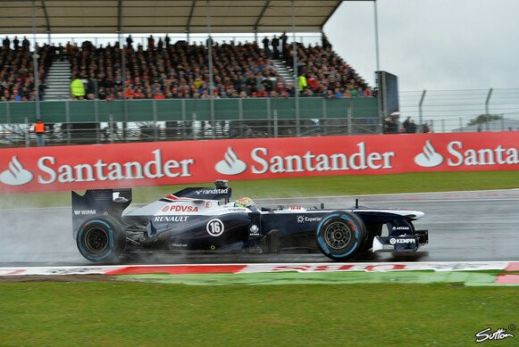 Wo landen die Williams-Piloten in Silverstone