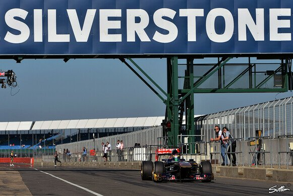 Testaction in Silverstone