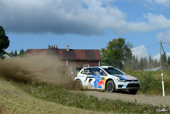 WM-Leader Ogier in Action.