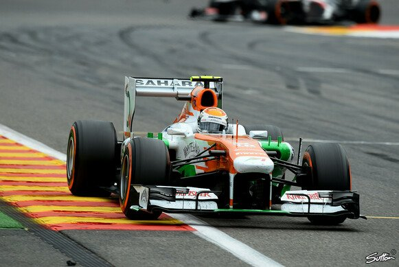Sutil holte in Spa zwei Punkte