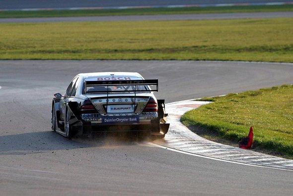 Mika Häkkinen testet derzeit in Estoril. - Foto: xpb.cc