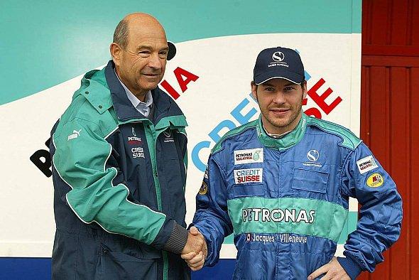 Mit Jacques Villeneuve hat Sauber erstmals einen Weltmeister unter Vertrag. - Foto: xpb.cc