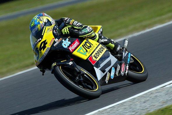 Der Italiener erlebte einen tollen Einstand. - Foto: Honda